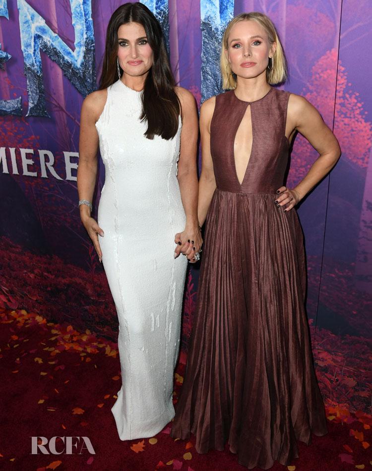 'Frozen 2' LA Premiere With Kristen Bell & Idina Menzel ...  'Frozen 2' ...