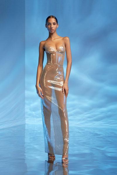 Beyonce In David Koma Shawn Carter Foundation Gala