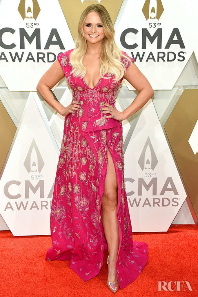 Miranda Lambert in Tony Ward - 2019 CMA Awards