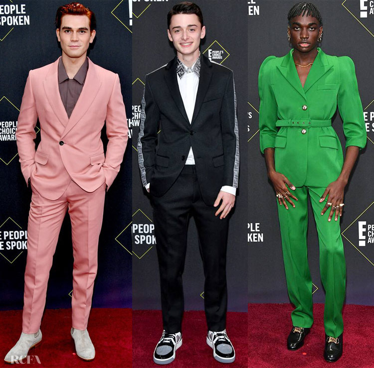 2019 People's Choice Awards Menswear Roundup