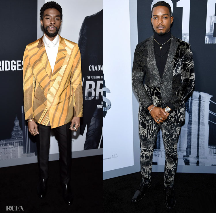 '21 Bridges' New York Screening with Chadwick Boseman & Stephan James