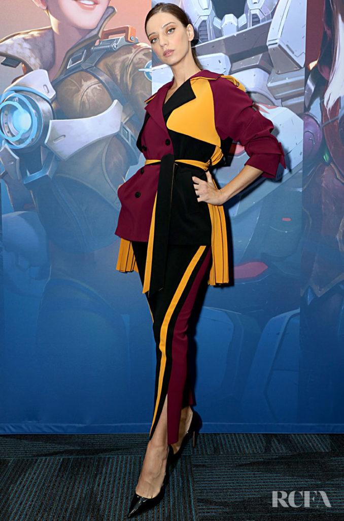 Angela Sarafyan In FANG - BlizzCon 2019