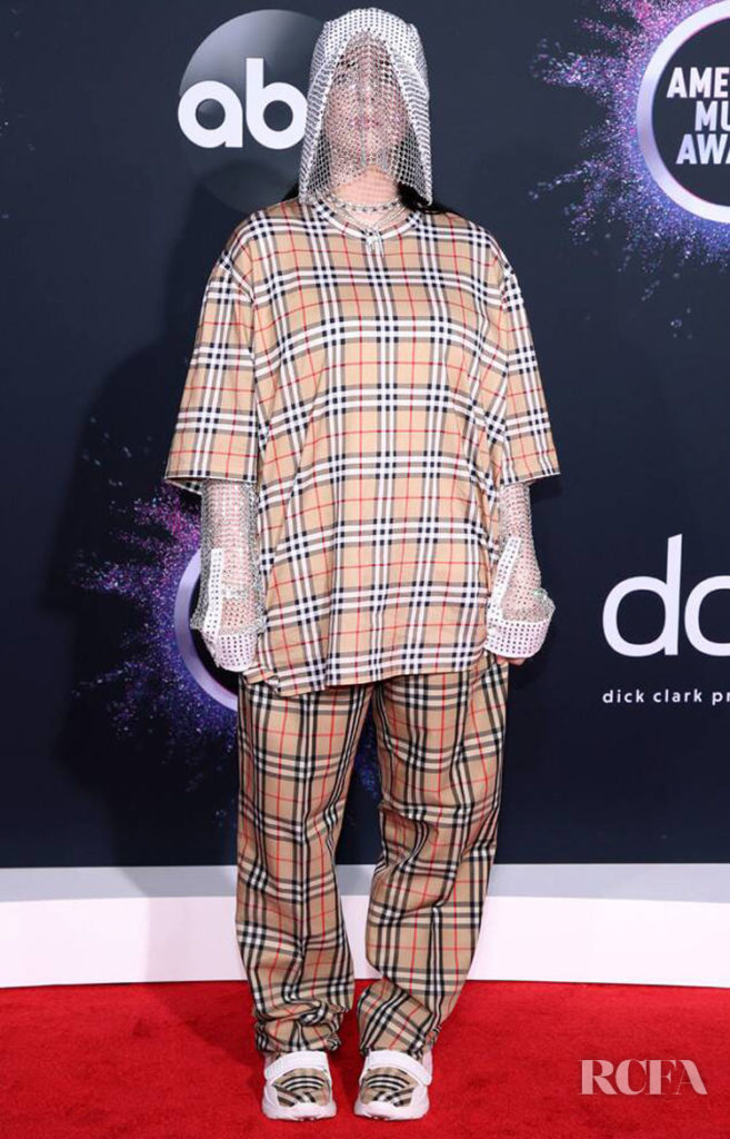 Billie Eilish In Burberry - 2019 American Music Awards