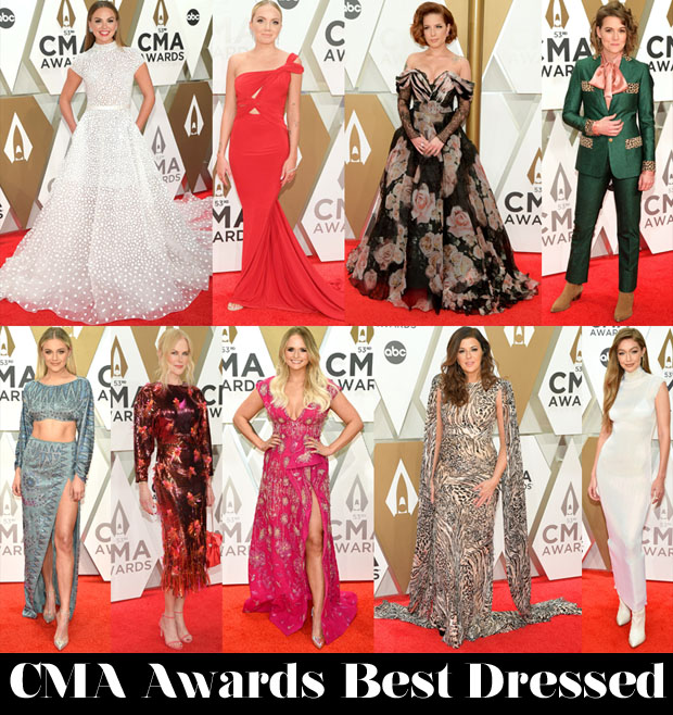 Who Was Your Best Dressed At The 2019 CMA Awards?
