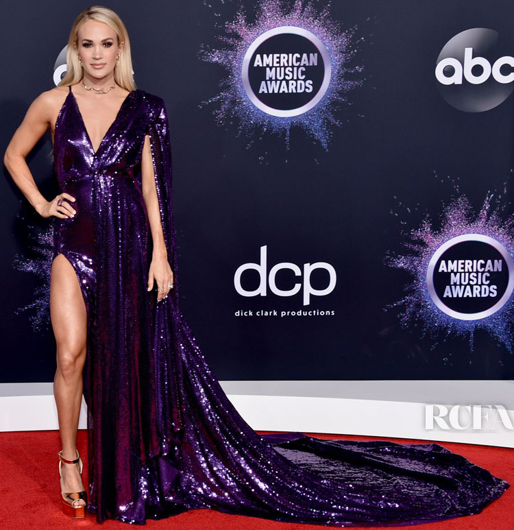 Carrie Underwood In Stello By Stephanie Costello - 2019 American Music Awards
