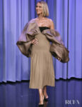 Celine Dion Wore Schiaparelli Haute Couture On Jimmy Fallon