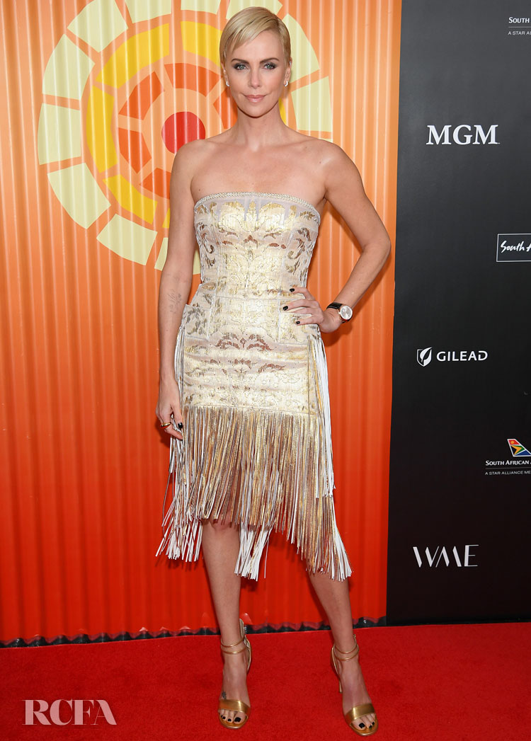 Charlize Theron Was The Golden Girl For Her Africa Outreach Project
