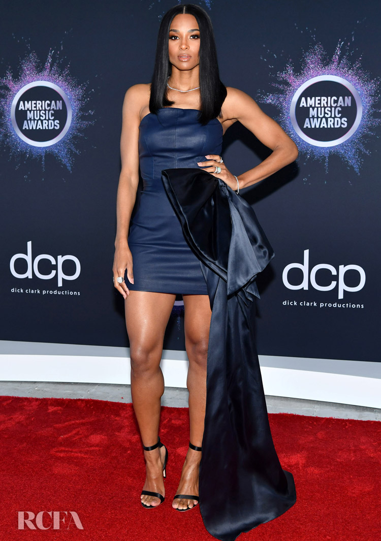 Ciara Gives Aliétte Its Red Carpet Debut At The 2019 American Music Awards Press Day
