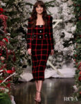 Dakota Johnson Wore A Checkered Alessandra Rich Look On The Ellen Show