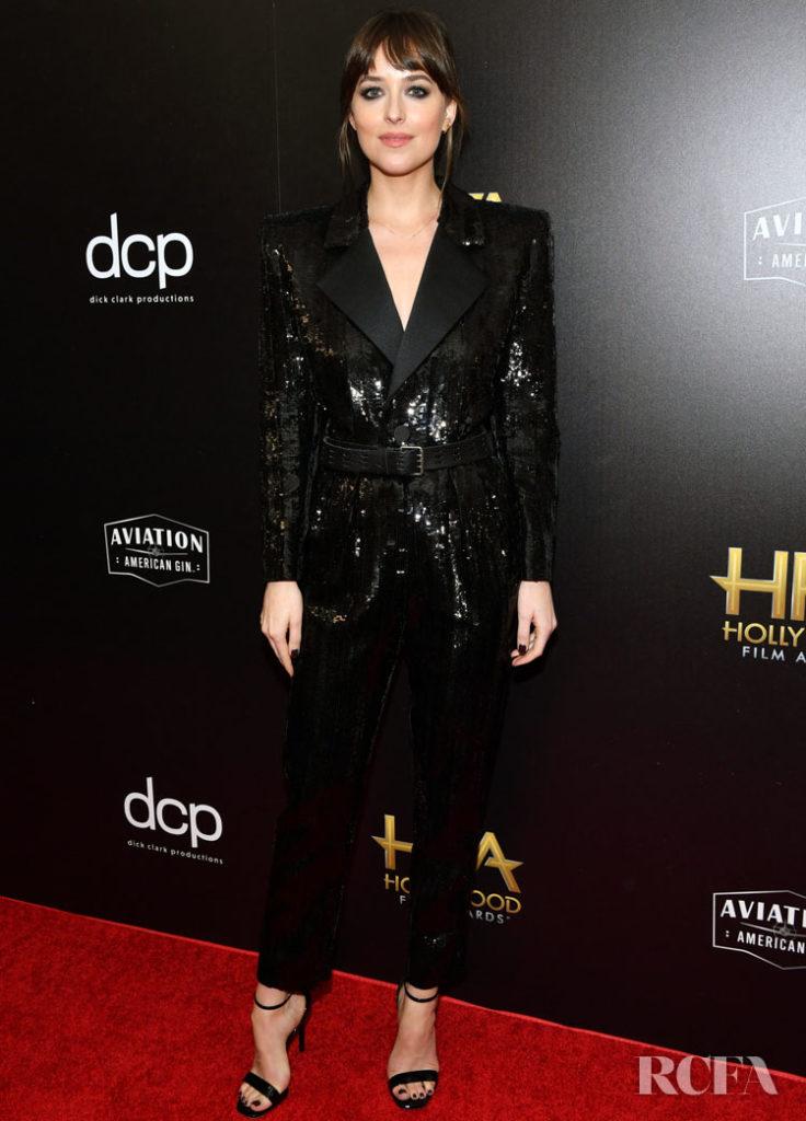 Dakota Johnson In Saint Laurent - 2019 Hollywood Film Awards