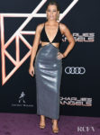 Elizabeth Banks' Slinky, Modern Moment In David Koma For The 'Charlie's Angels' LA World Premiere