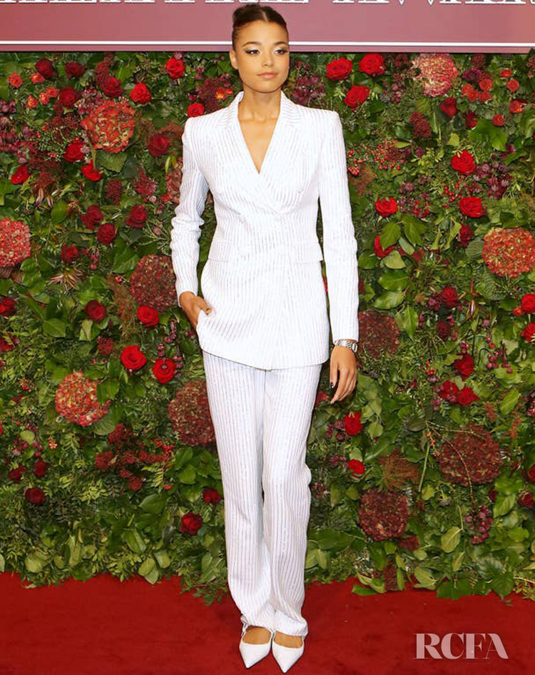 Ella Balinska In Michael Kors Collection - 2019 Evening Standard Theatre Awards