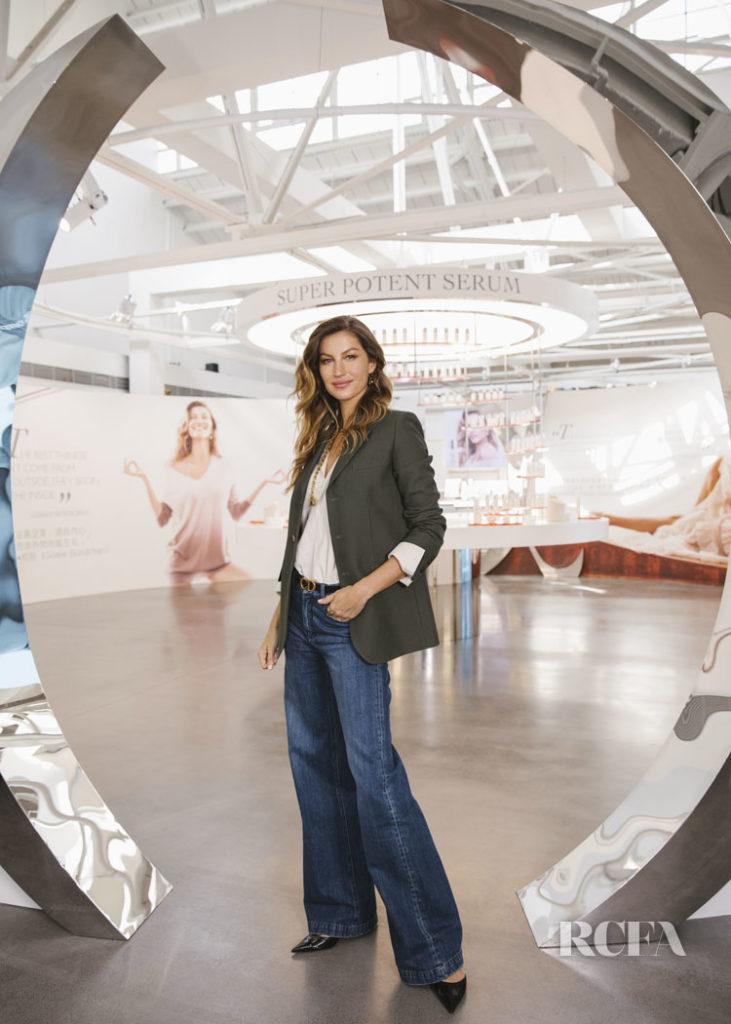 Gisele Bundchen Attends The Dior Skincare Scientific Summit
