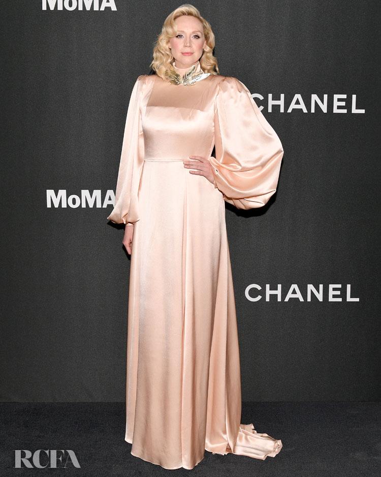 Gwendoline Christie in Gucci - 2019 Museum Of Modern Art Film Benefit: A Tribute To Laura Dern