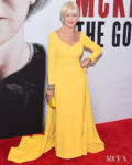 Helen Mirren Is Radiant In Yellow For 'The Good Liar' New York Premiere