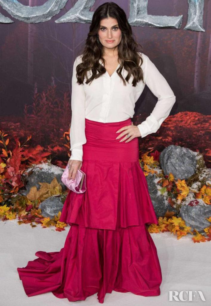Idina Menzel Wore Paule Ka To The 'Frozen 2' London Premiere