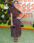 Ilana Glazer Rocked A Paisley Print Altuzarra Look For Netflix's 'Green Eggs and Ham' LA Premiere