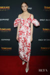 Karen Gillan Wore Rosie Assoulin To The 'Jumanji: The Next Level' Mexico Cast Photocall