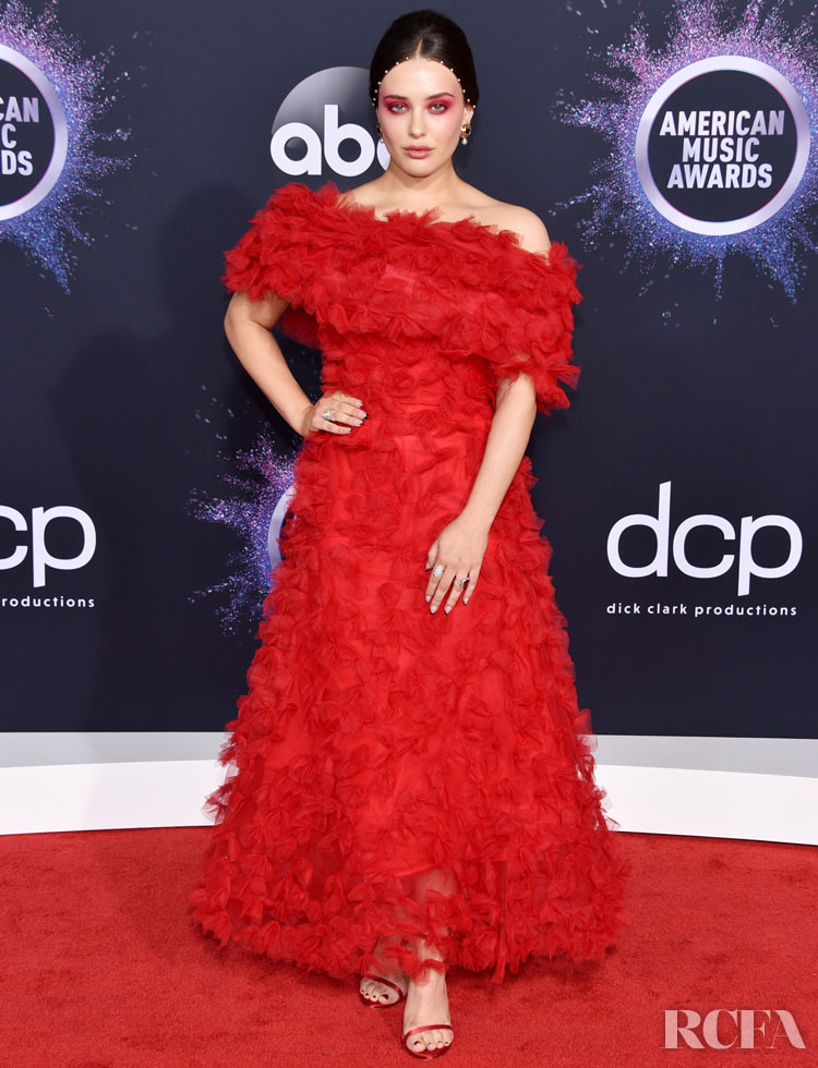 Katherine Langford In Rodarte - 2019 American Music Awards