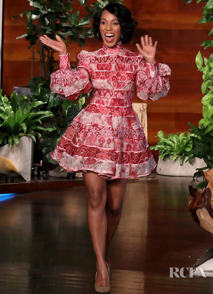 Kerry Washington's Zappy Zimmermann Frock The Ellen Show