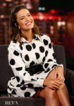 Mandy Moore Showcased Her Love For Polka Dots Once Again On Jimmy Kimmel Live!