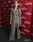 Melissa Barrera Rocks Gingham & Playful Polka Dots For The 'Vida' SAG-AFTRA Conversation