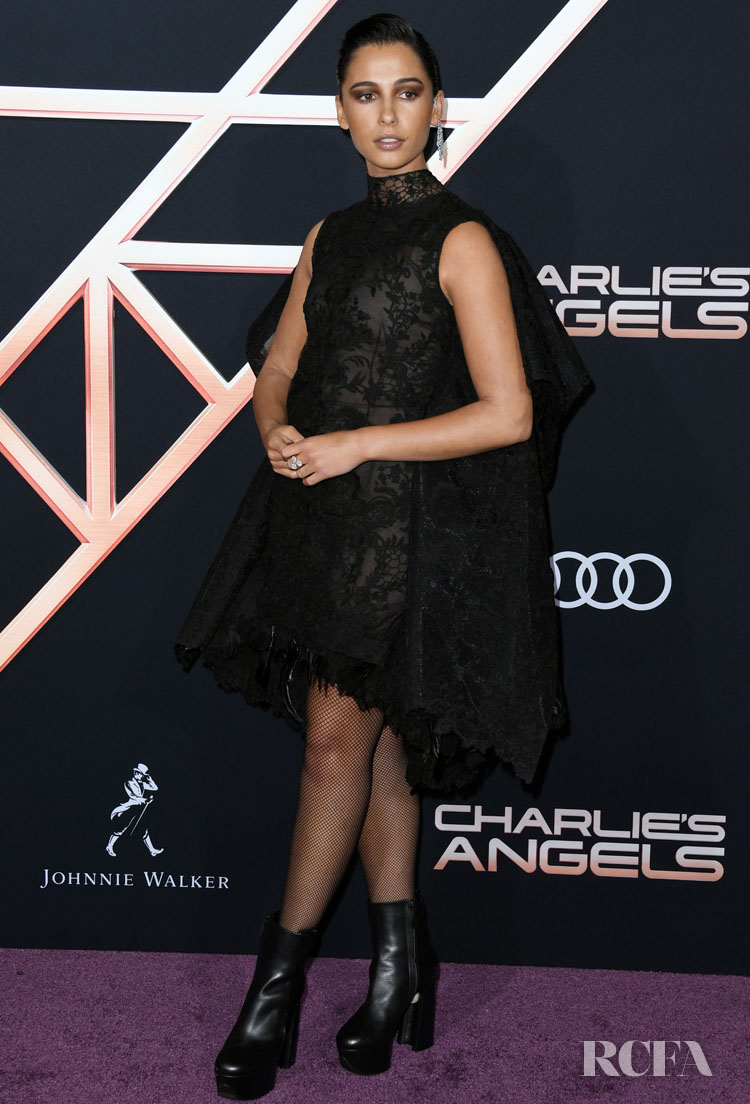 Naomi Scott In Givenchy Haute Couture - 'Charlie's Angels' LA World Premiere