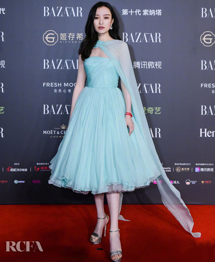 Ni Ni Has Fairy-Tale Moment At The 2019 Harper's Bazaar Charity Gala