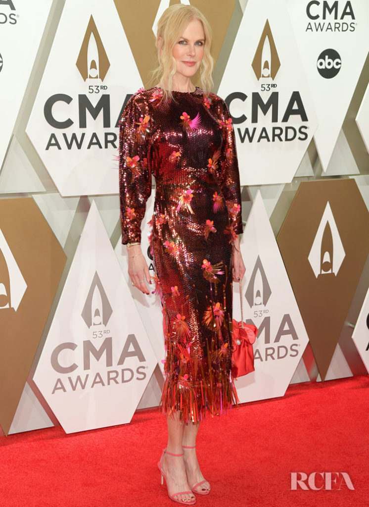Nicole Kidman In Versace - 2019 CMA Awards
