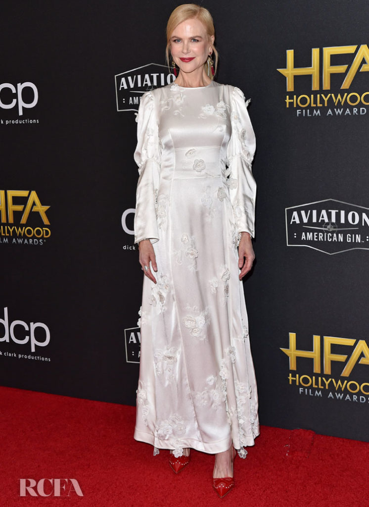 Nicole Kidman Wears Loewe To The 2019 Hollywood Film Awards