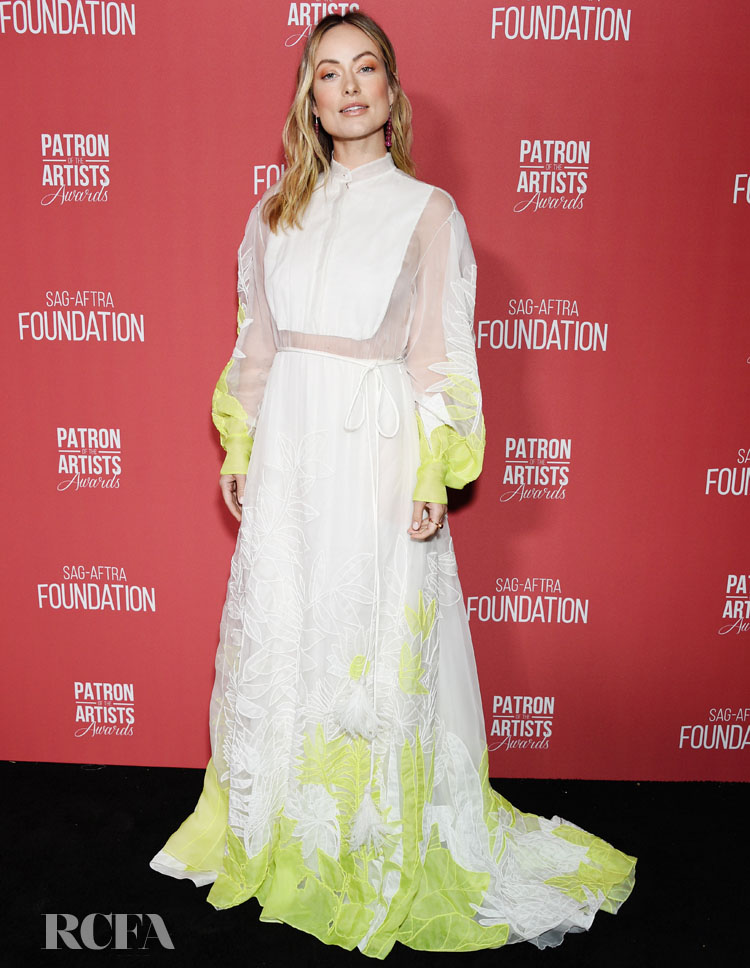 Olivia Wilde In Valentino - SAG-AFTRA Foundation's 4th Annual Patron of the Artists Awards