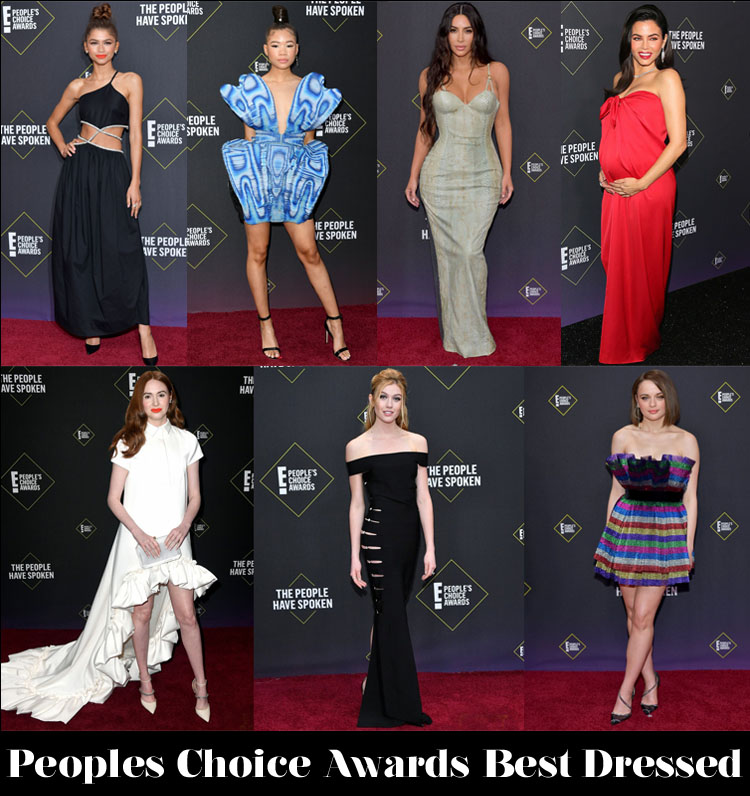 Who Was Your Best Dressed At The 2019 People's Choice Awards?