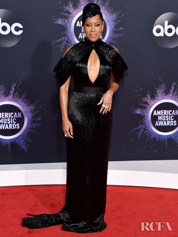 Regina King In Ashi Studio Couture - 2019 American Music Awards
