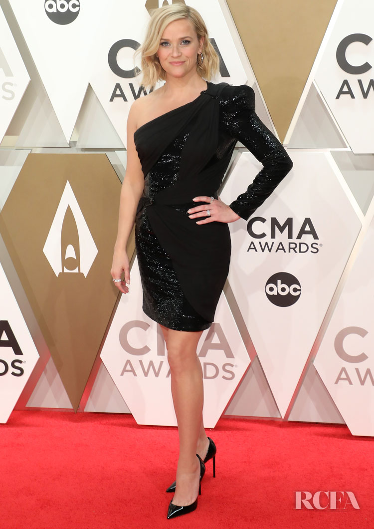 Reese Witherspoon In Atelier Versace - 2019 CMA Awards