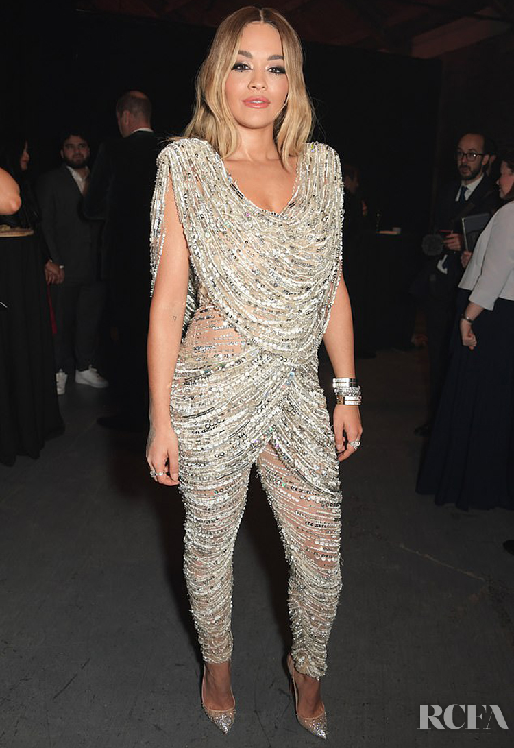 Rita Ora Dazzled For Centrepoint's 50th Anniversary Gala In Cong Tri