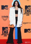 Rosalía In Polka Dot Balmain For The 2019 MTV EMAs