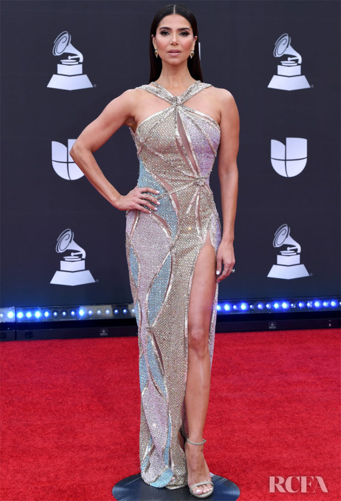Roselyn Sanchez In Nicolas Jebran - 2019 Latin Grammy Awards