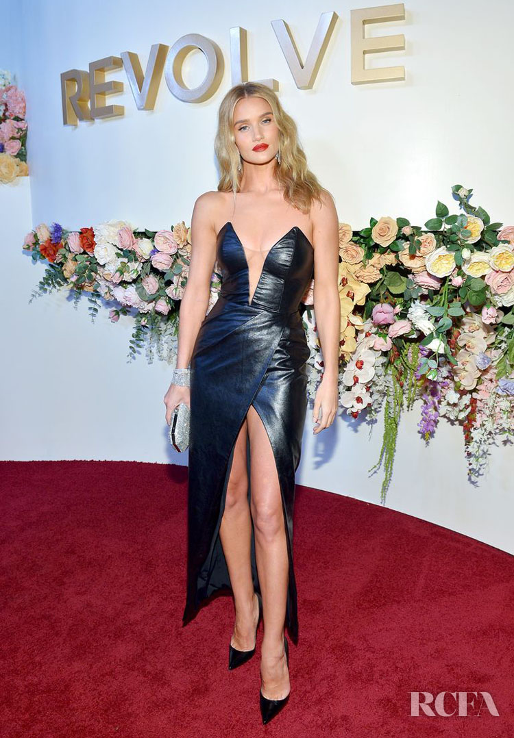 Rosie Huntington-Whiteley's LBD For The 3rd Annual #REVOLVEawards