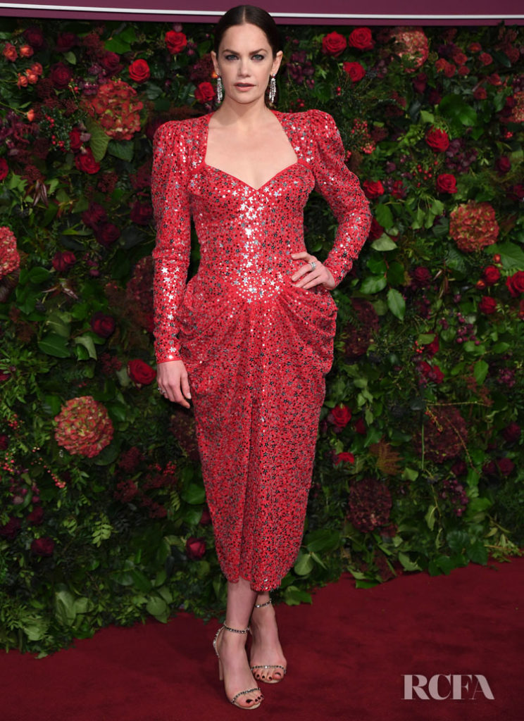Ruth Wilson In Michael Kors Collection - 2019 Evening Standard Theatre Awards