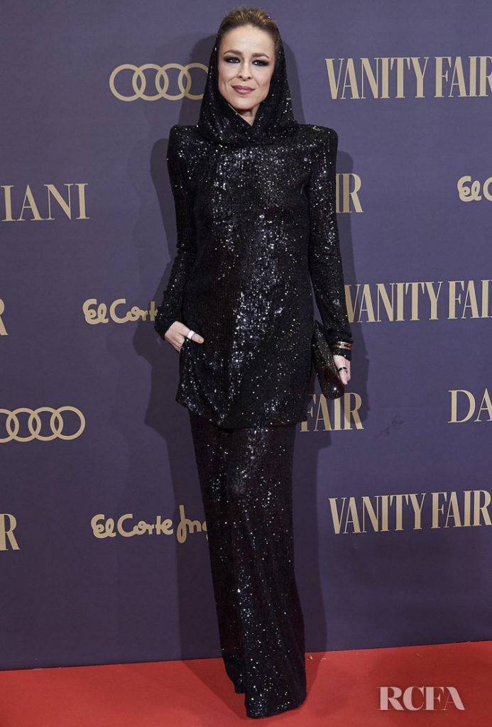 Silvia Abascal Goes Hood For 2019 Vanity Fair Person of The Year Awards