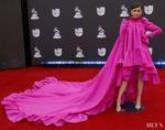 Sofia Carson Serves Up Two  Giambattista Valli Haute Couture Gowns For The Latin Grammys