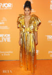 Zazie Beetz Has The Midas Touch For The 2019 TrevorLive Los Angeles Gala