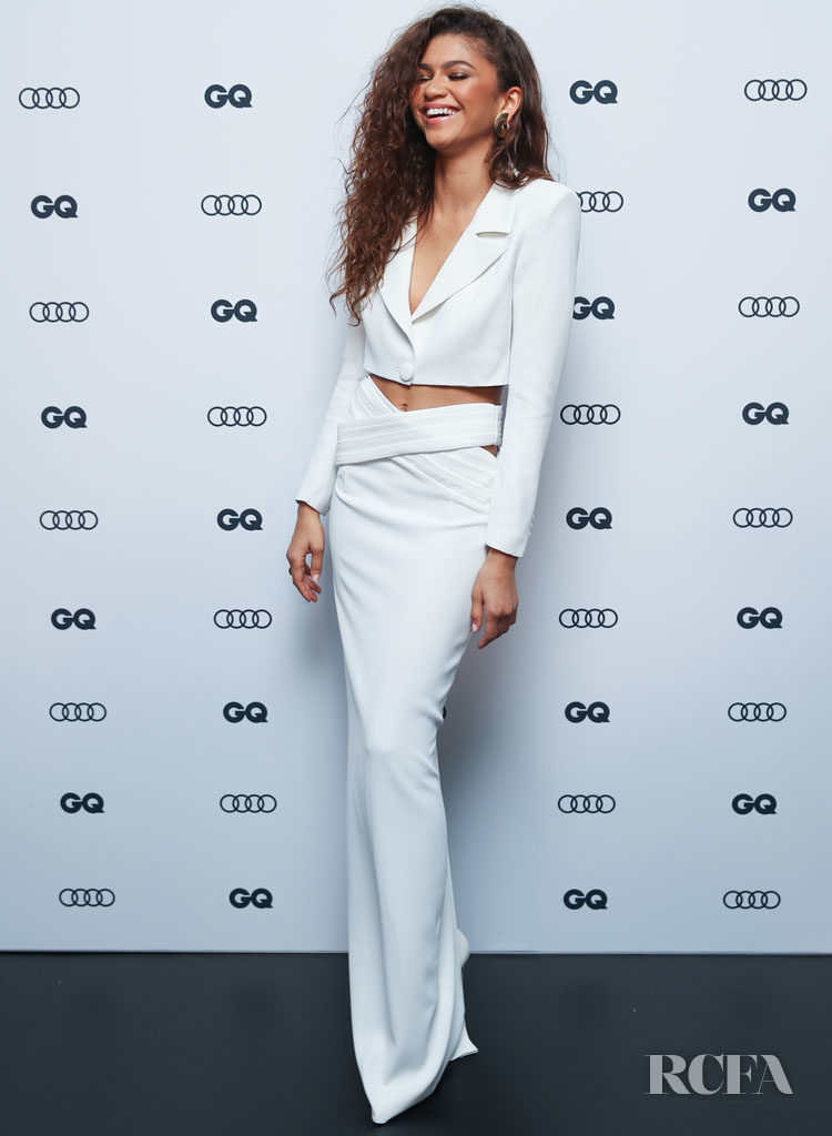 Zendaya Goes Minimalist In Mônot For The 2019 GQ Men Of The Year Awards