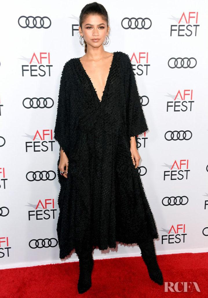 Zendaya In Imane Ayissi 'Queen & Slim' LA Premiere