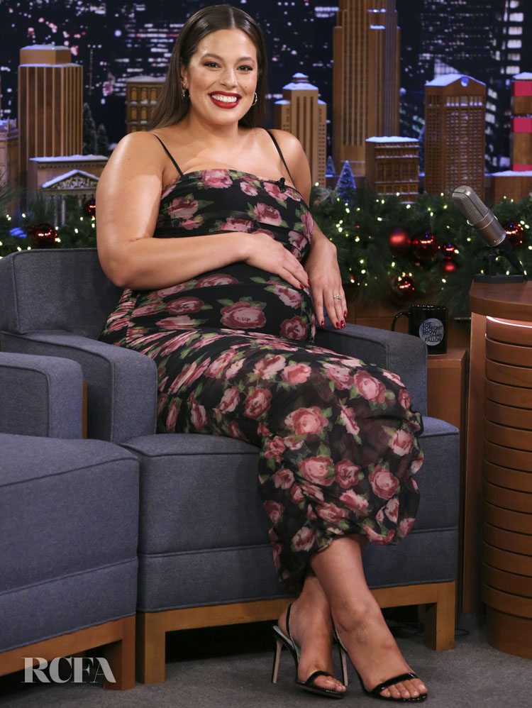 Ashley Graham Was Radiant On Jimmy Fallon In House of CB