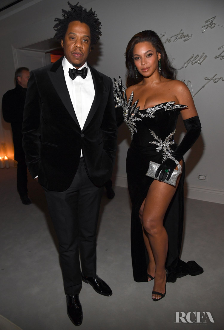 Beyonce Knowles Wore Kujta & Meri To Sean Combs 50th Birthday Bash