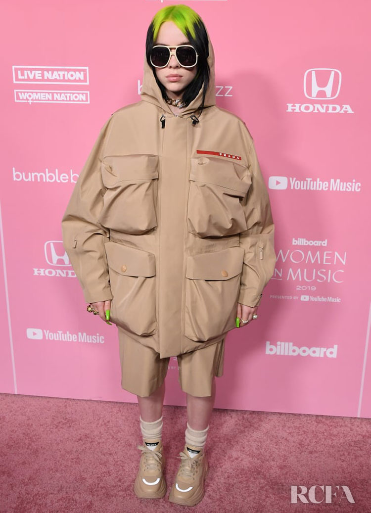 Billie Eilish Wore Prada Uomo To The 2019 Billboard Women In Music Event