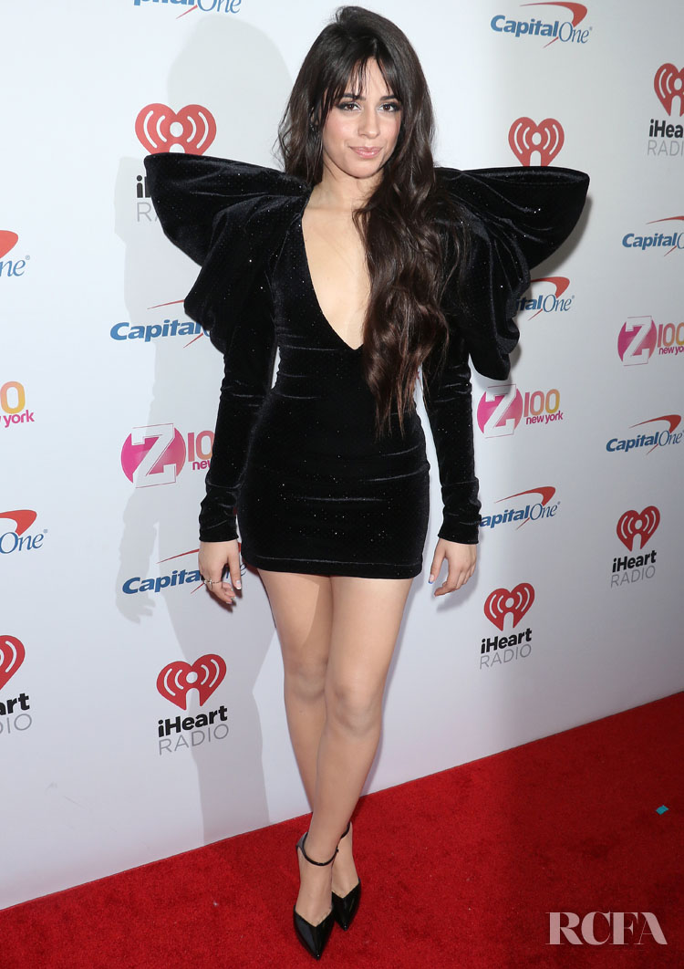 Camila Cabello Wore Redemption To iHeartRadio's Z100 Jingle Ball 2019