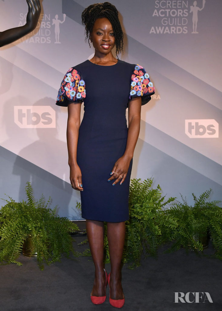 Danai Gurira Wore Jonathan Cohen For The SAG Awards Nominations Announcement