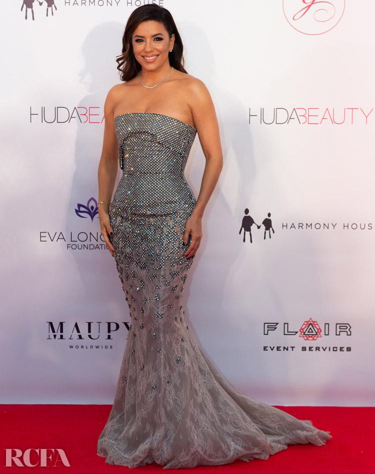 Eva Longoria Wore Rami Al Ali To The Global Gift Gala Dubai